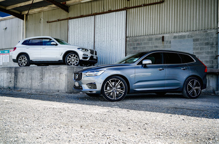 Volvo XC60 and BMW X3