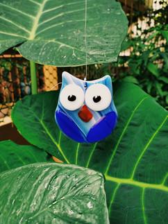 The Winter Owl Suncatcher