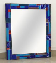 Fused Glass Mirror Border