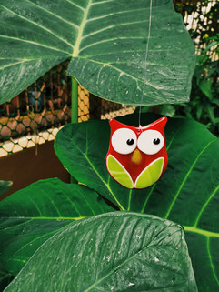 The Unique Owl Suncatcher
