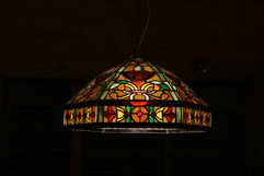 Classic Stained Glass Lampshade