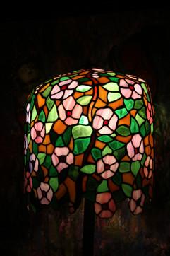 Apple Blossom Tiffany Style Lampshade