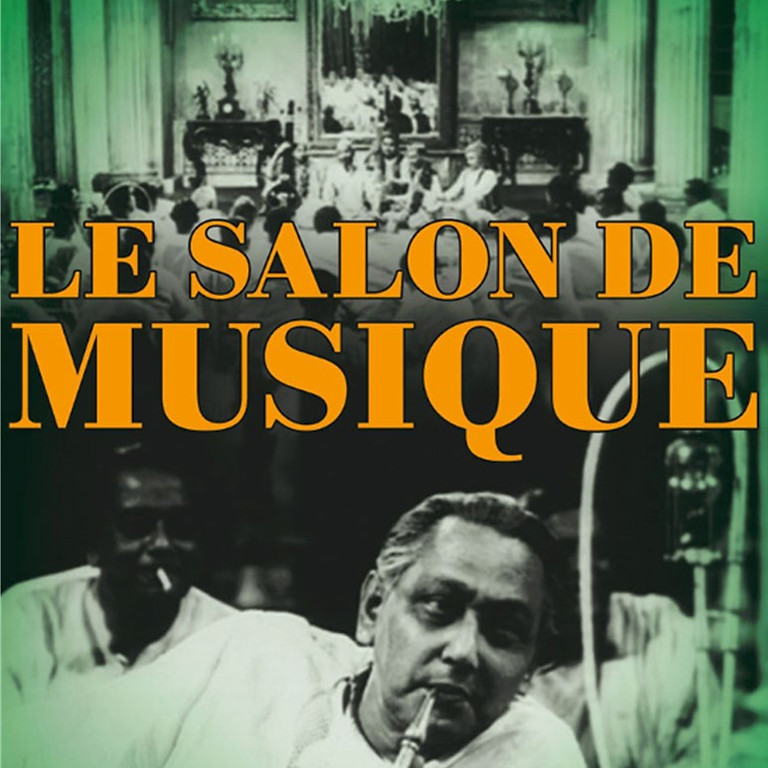 "Soirée Sarasvati : ""Le Salon de musique"" (film documentaire, Satyajit Ray)"