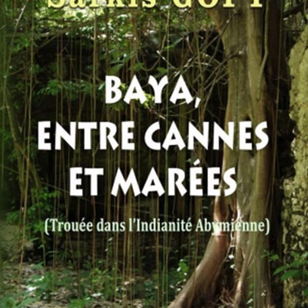 """Soirée Sarasvati : """"Baya, entre cannes et marées"""" de Sarkis Gopy (Club de Lecture)"""