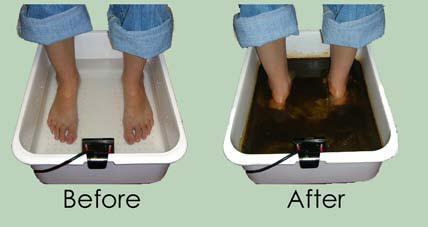 Ionic Cleanse Footbath