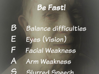 Stroke? Be fast! It just might save a life