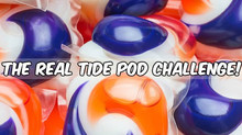 Wait! Don't eat that! The real Tide Pod Challenge