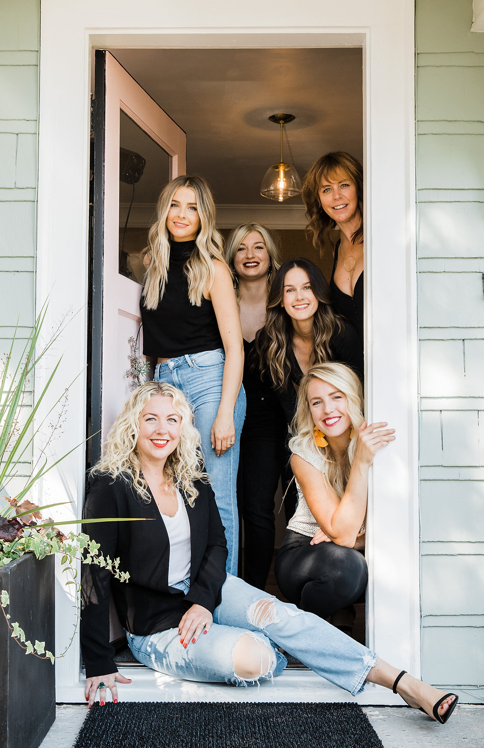The team of professional stylist at La Vie Salon West Seattle