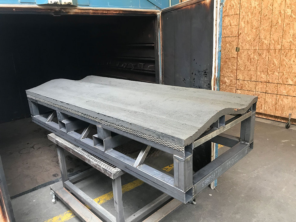 High Temp Oven Curing Technical Tooling