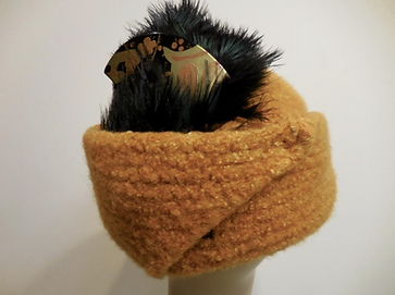 Millinery Hat Styles with feathers