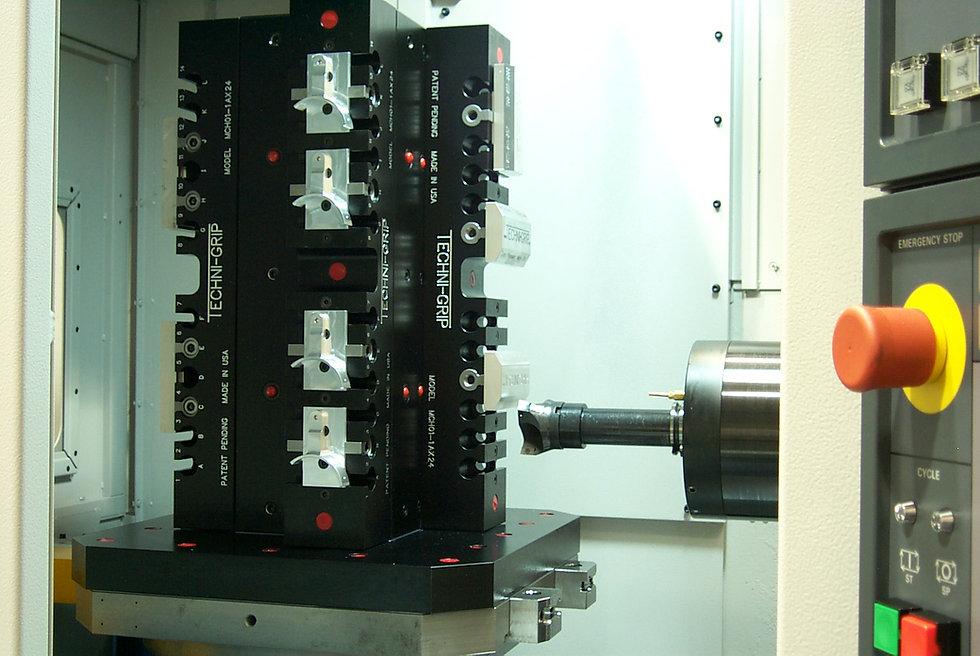 Techni-Grip 5th axis machining