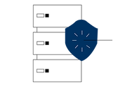 zero data risk icon for securely transported IT assets
