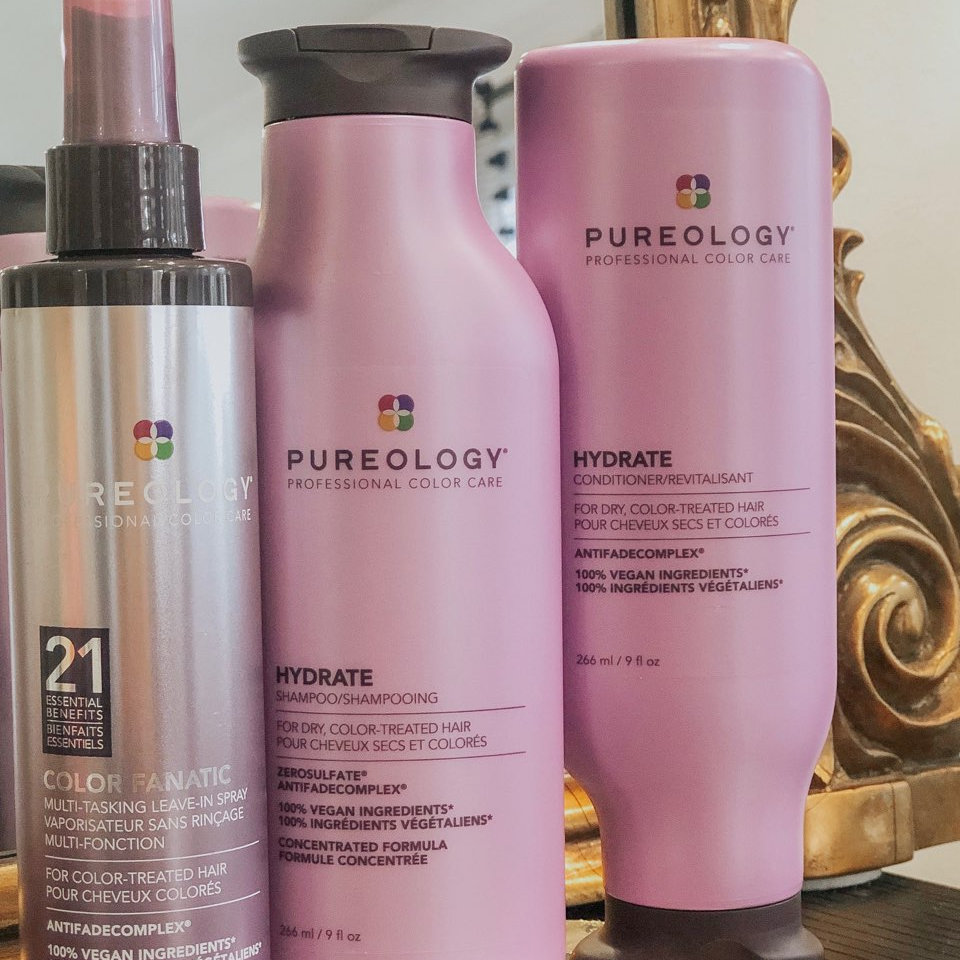 pureology available at La Vie Salon West Seattle