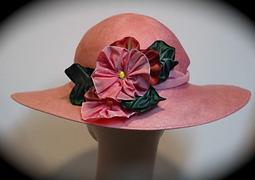 Vintage hat - pink