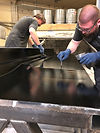 carbon composite manufacturoing workers at Technical Toolng