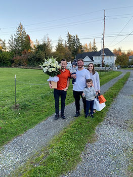 First time homebuyers purchased their home through SASH Realty's broker Roman Shulyak