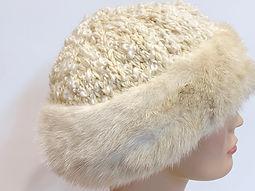 Fur Cossack Hats white