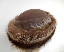 Fur Cossack Hats brown