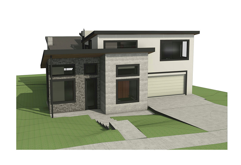 Kirkland architecture drawings for Custom Build home by Anderson Homes