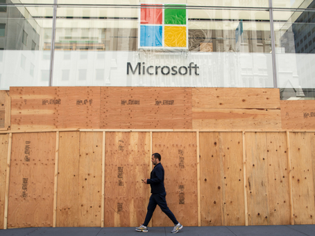 Microsoft Closing Stores to Focus on Online Sales