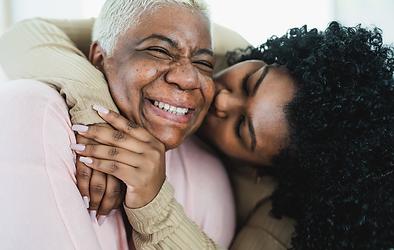 mother-hugging daughter SASH Services