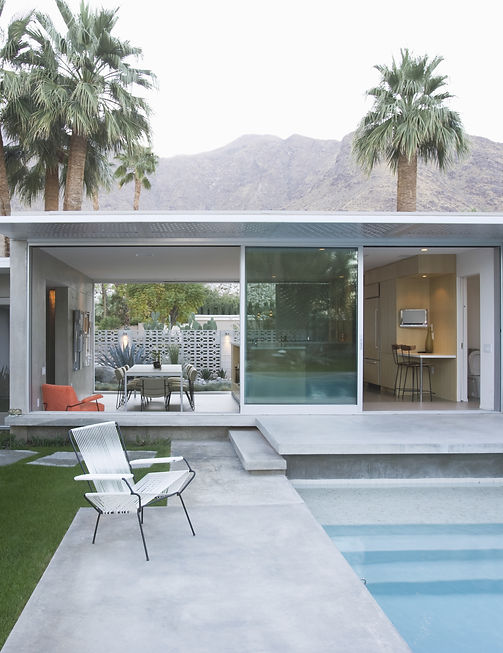 Palm Springs vacation homes custom built by Anderson Custom Homes