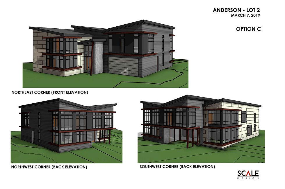 Kirkland, WA custom buiuld homes renderings