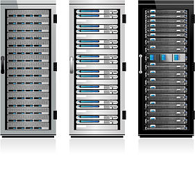 Silicon Valley data center service who sells used Cisco, Dell and Juniper servers, adobe stock image