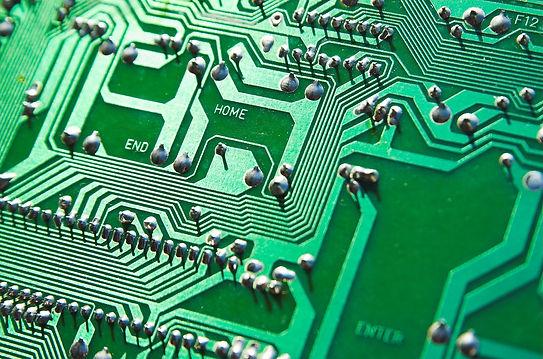 Close up of motherboard for selling old server hardware