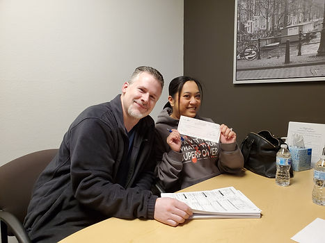 First time homebuyers purchased their home from SASH Realty