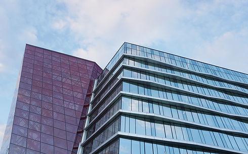Real estate syndication image big building