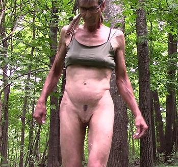 Third-gender artist model nude 8 10-2019
