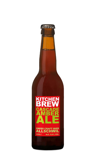 Cascade Amber Ale - American-style Amber Ale