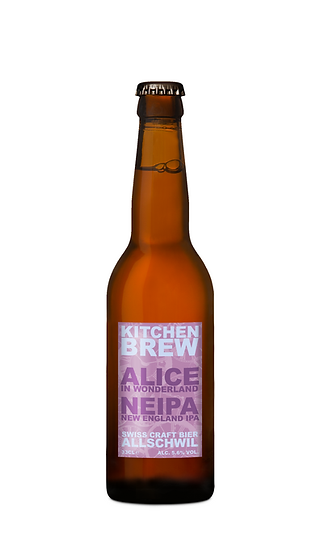 Alice in Wonderland - NEIPA (New England IPA)