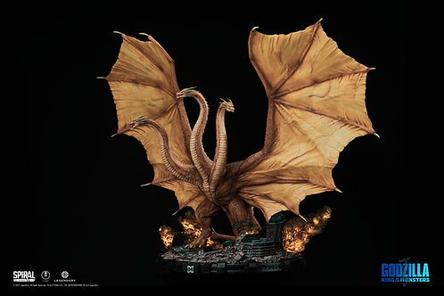 King Ghidorah Statue - Deluxe Edition