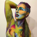 body paint and photo by Ryan Jackson @thisguysmakeup