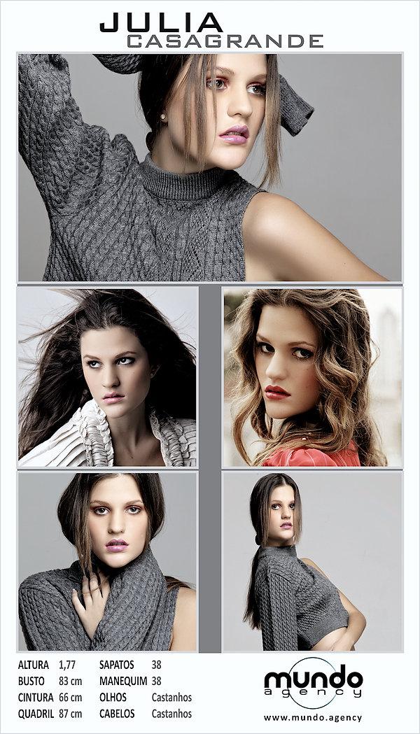 Julia Casagrande - Mundo Agency vertical