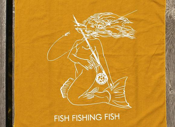 Fish Fishing Fish Bandana - (20 x 20)