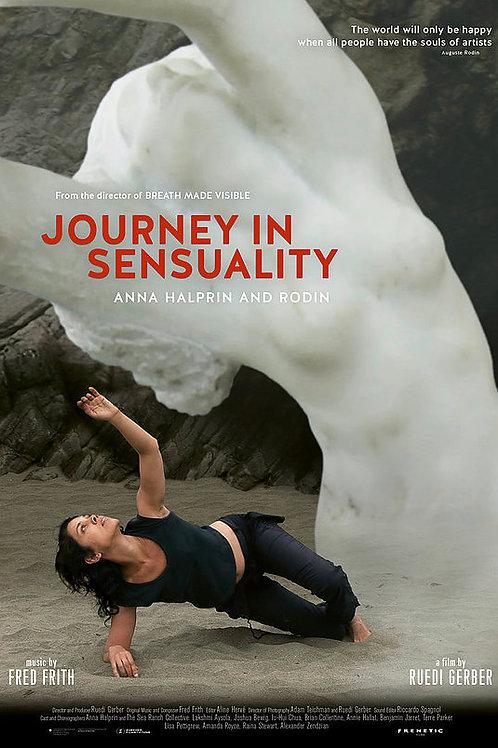 Journey in Sensuality Anna Halprin and Rodin (dvd)