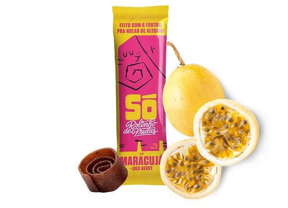 Só. Rolinho de Frutas com Maracujá e Goji Berry (20g)