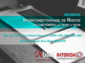Webinar Interconectividade de Riscos
