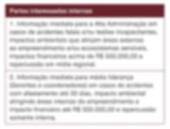 registro ocorrências, relatório, SSO, Saúde ocupacional, partes interessadas internas, SSMA,