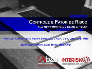 Webinar Controle e Fator de Riscos