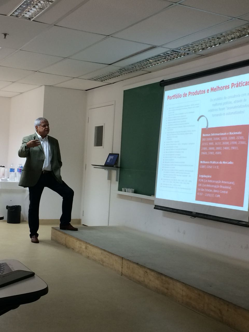 Palestra sobre as Fases do Processo