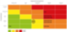 matriz de criticidade de risco, riscos sistêmicos, software interisk, interconectividade