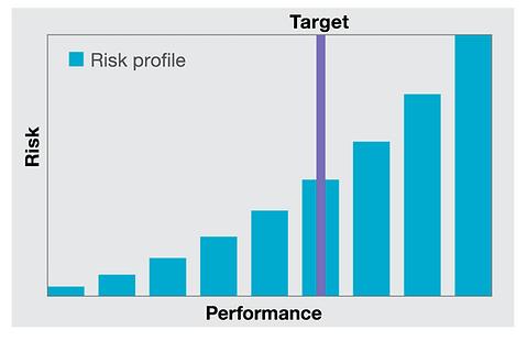 Risco, risco x desempenho, risk profile, COSO, COS ERM,