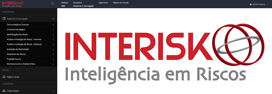 Figura 4 e 5 – Software INTERISK | Disciplinas - Newsletter Fevereiro Brasiliano INTERISK