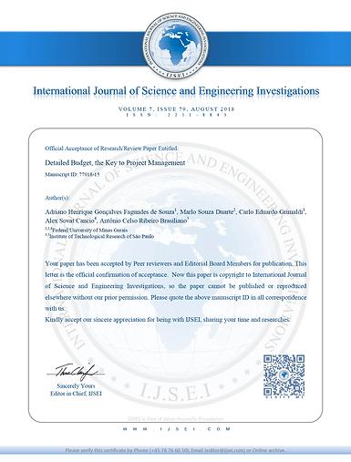 IJSEI certificado