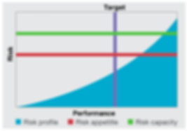 apetite de risco, capacidade de risco, COSO, COS ERM, Risco, Risk, Target,