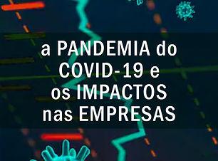 A Pandemia do Covid 19 e os impactos fin